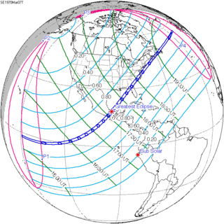 Solar eclipse of March 7, 1970   Wikipedia