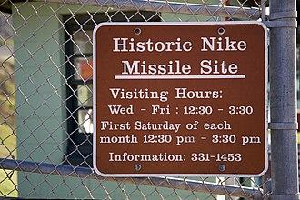 Nike Missile Site SF-88 - Image: SF 88 (3090829912)
