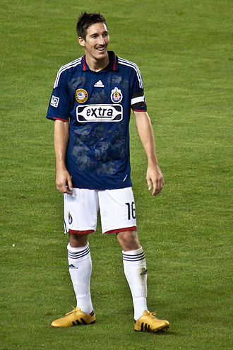 Sacha Kljestan - Kljestan playing for Chivas USA in 2010