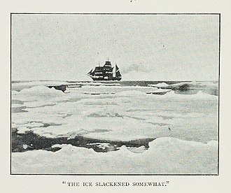 SS Southern Cross (1886) - During the Southern Cross Expedition