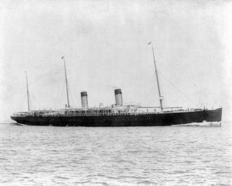 RMS Majestic (1889) - Image: SS Majestic (1890)