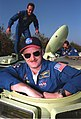STS-103 Pilot Scott J. Kelly is ready to take his turn at driving a small armored personnel carrier (5135053344).jpg