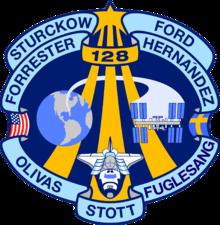 Missionsemblem STS-128