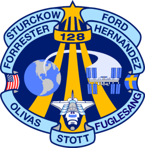 Patrick G. Forrester - Image: STS 128 patch