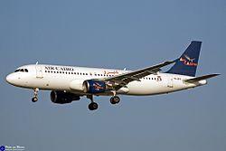 Airbus A320-200 di Air Cairo