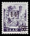 Saar 1947 236 ehemalige Benediktiner Abtei Mettlach, Alter Turm.jpg