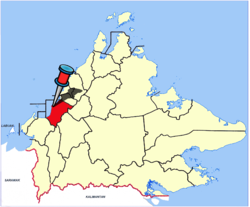 Location of Papar