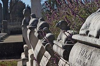 Sacramento Historic City Cemetery - Gravestones in Old City Cemetery, 2012