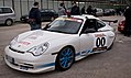 Safety Car Porsche 911 GT3 RS 25° Rally Proserpina 2010 (5877361358).jpg