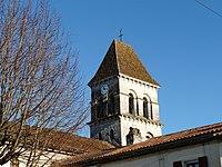 Saint-Pierre-de-Côle église clocher.JPG