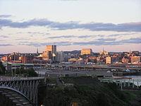 Saint John, NB, skyline at dusk12.jpg