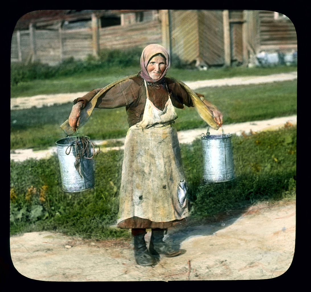 Old russian woman in timisoara part one - 3 part 10