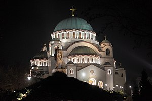 Building - Church of Saint Sava, building in Belgrade, Serbia