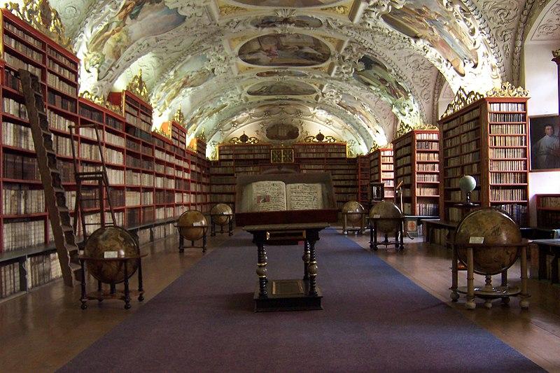 biblioteca manastirii Strahov