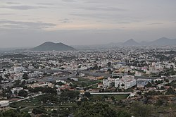 View of Salem city