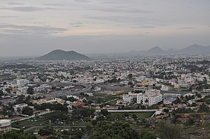 Salem district - View of Salem city