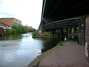 Salford Junction, Grand Union on right.jpg