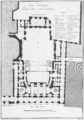 Salle de l'Opéra de Moreau - plan au rez-de-chaussée du parterre - Dumont 1774 - Blom 1968 reprint.png