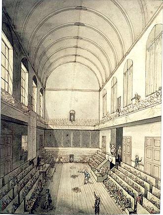 Salle du Manège - The Salle du Manège during the French Revolution