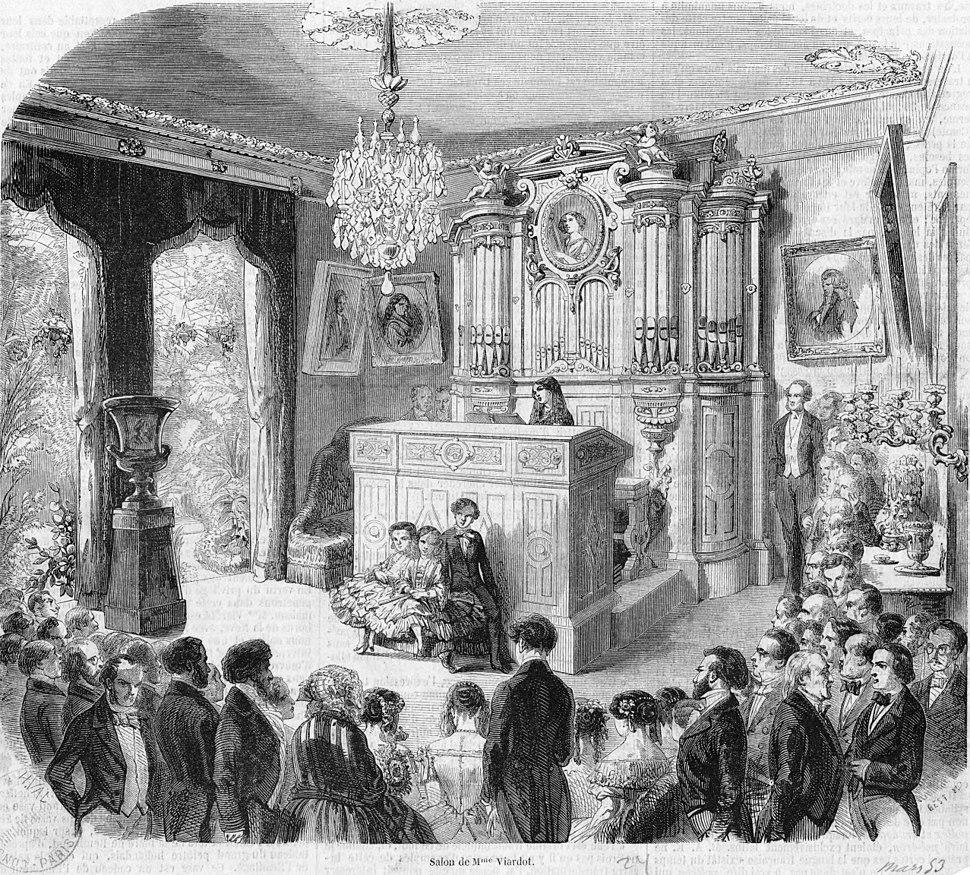 Salon of Pauline Viardot - Gallica