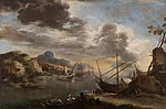 Salvator Rosa - View of the Gulf of Salerno - WGA20061.jpg