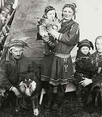 Sami family Finland 1936.jpg