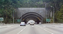 Eastern portal of the Yerba Buena Tunnel