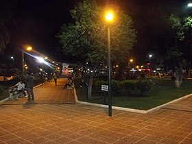 San Martín square in Tartagal.JPG