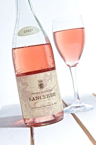 Rosé - A rosé from Sancerre.