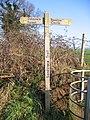 Sandstone Trail Signpost - geograph.org.uk - 331801.jpg