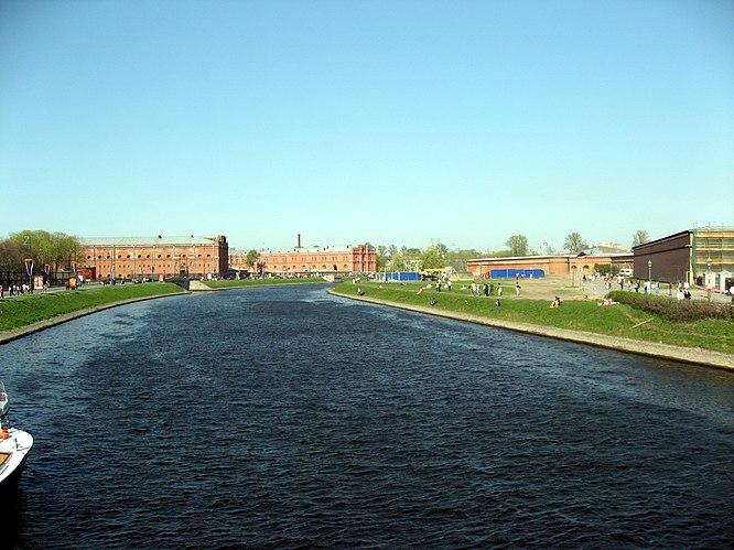 Kronverksky Strait
