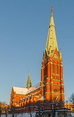 Sankt Johannes kyrka December 2012.jpg