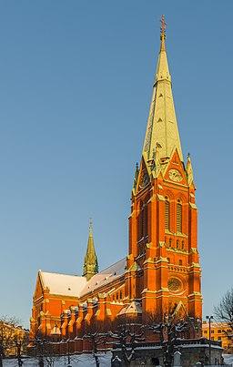Sankt Johannes kirke i december 2012.