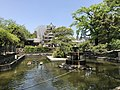 Sansaiike Pond and Tenshu of Nakatsu Castle.jpg
