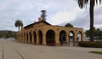 Santa Barbara station - Image: Santa Barbara Station 04 2014