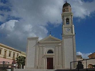 Sinnai - Church of Santa Barbara