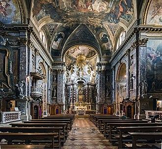 Scalzi, Venice - Image: Santa Maria degli Scalzi (Venice) Interior