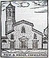 Santa Maria della Consolazione by Girolamo Francino (1588).jpg