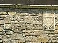 Santa croce, loggiato sud, esterno stemmi 12.JPG