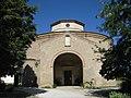 Santuario di Santa Maria delle Grazie di Fornò, facciata.JPG