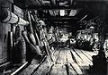 Sarawak; interior of a Kayan tribal house. Photograph. Wellcome V0037469.jpg