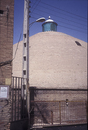 Ab anbar - Ab anbar of Sardar-i Bozorg, in Qazvin, is the largest single domed ab anbar in Iran.