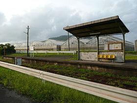 萨摩川尻站月台
