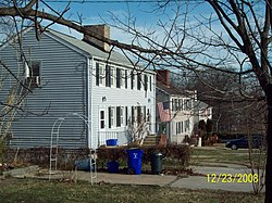 Savage Mill Workers Housing Dec 08.JPG