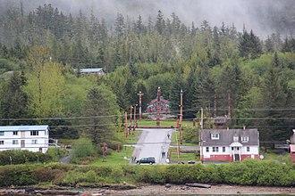 Saxman, Alaska - Saxman Totem Park