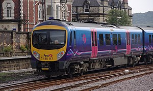 First TransPennine Express - 185117 departing from Scarborough