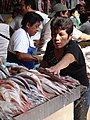 Scene in the Fish Market - Campeche - Mexico.jpg