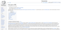 Screenshot of an incorrectly displaying Wikipedia page taken using Firefox.png