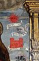 Scuola ligure, immacolata concezion e santi, xvi secolo, dalla ss. annunziata a savona, 07 maria tra attributi mariani 06, sole luna e prota cieli.jpg