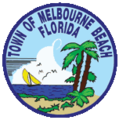 Seal of Melbourne Beach, Florida.png